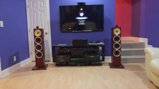 bowers wilkins cm10 s2 driven by onkyo tx nr818 and emotiva xpa 3 gen2