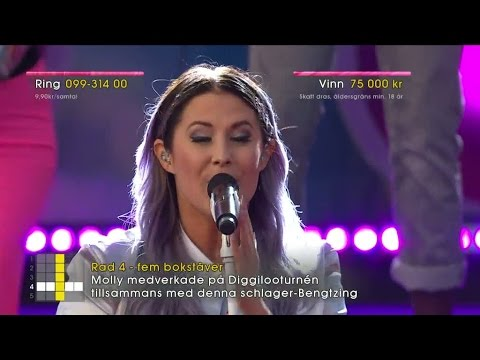 Molly Sandén - Like no one's watching - Sommarkrysset (TV4)