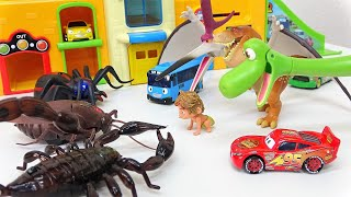 Go Go Tayo the little bus, toy insect story, Disney Cars, The Good Dinosaur