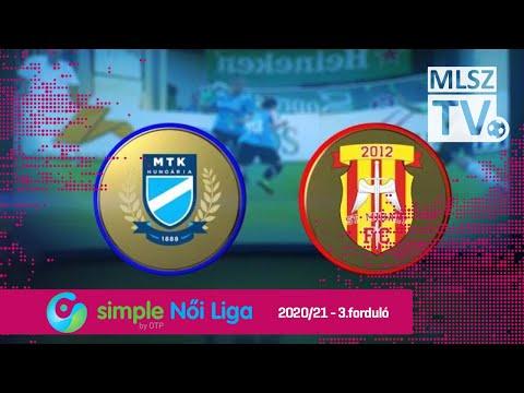 MTK Hungária FC - KÉSZ-St. Mihály FC | 6-0 | Simple Női Liga | 03. forduló | MLSZTV thumbnail