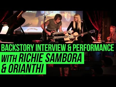 BackStory Presents: Richie Sambora & Orianthi (RSO) Live from The Cutting Room