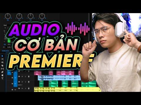 Hướng Dẫn Tất Tần Tật Về Audio Cơ Bản Trên Adobe Premiere | QuạHD