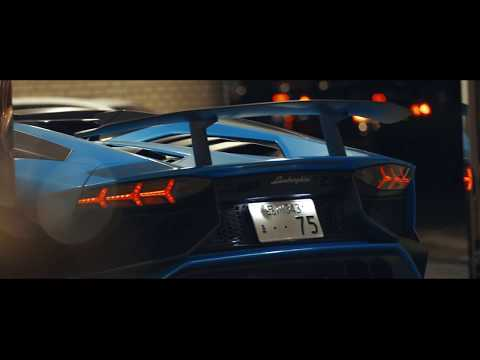 VB Valentino Balboni  - Lamborghini Aventador SV Tokyo Night Drive