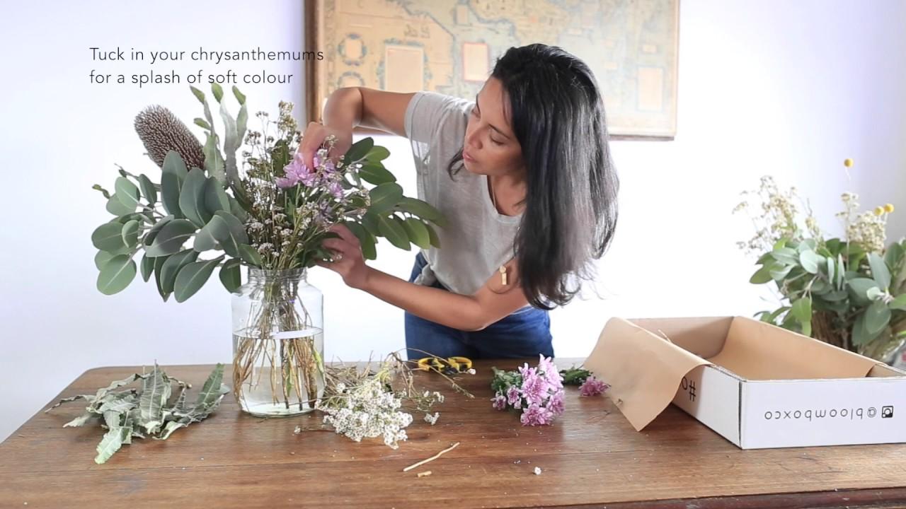 Native australian long weekend flower arrangement youtube native australian long weekend flower arrangement izmirmasajfo