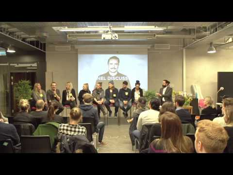 Meet Hyper Island: Panel Discussion - Sweden 2016