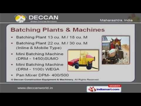 Earth Compcater DEC 5 By Deccan Construction Equipment & Machinery Pvt. Ltd. Pune
