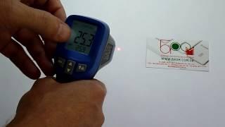 Пирометр, бесконтактный термометр Flus IR-828 (-50…+850)(Бесконтактный термометр IR-828 Flus удобный, вмещающийся в ладони, отличается настройкой коэффициента эмиссии,..., 2016-09-22T14:40:45.000Z)