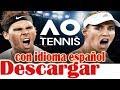 Download Descargar AO International Tennis Full Y en Español