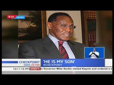 Man back to claim late Saitoti\'s son