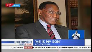 Man back to claim late Saitoti\'s son