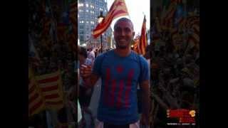 Les Samarretes de la Diada. Barcelona, 11 de Setembre de 2012
