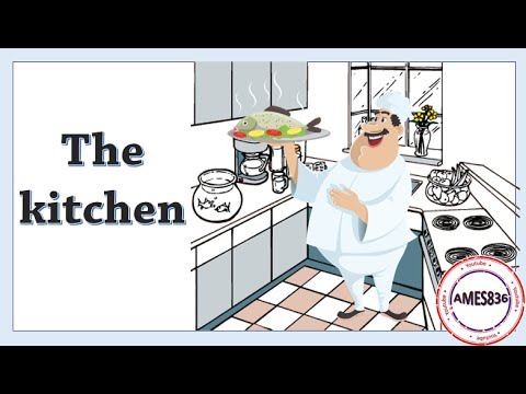 The Kitchen Vocabulary Lesson