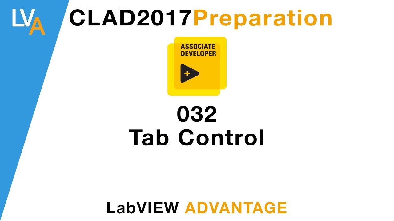 Labview Clad 032 Tab Control Youtube
