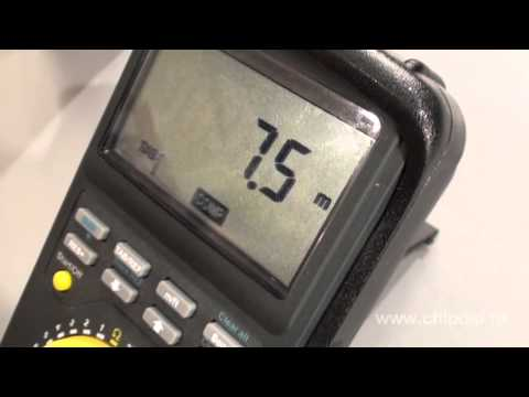 видео: unitest echometer 3000 измеритель  длины  кабеля