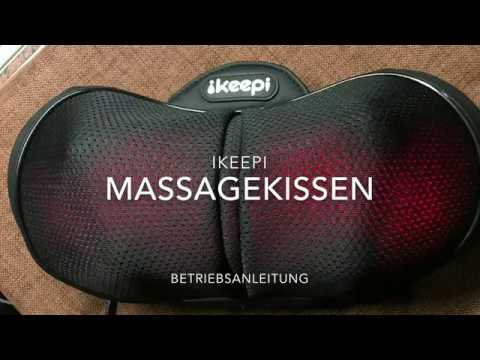 ikeepi massagekissen shiatsu massageger t f r nacken. Black Bedroom Furniture Sets. Home Design Ideas