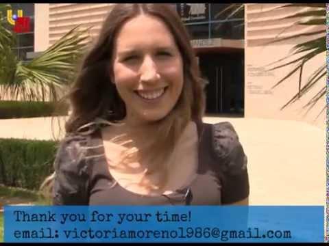 Victoria Moreno- Video CV (Journalist and Media Studies)