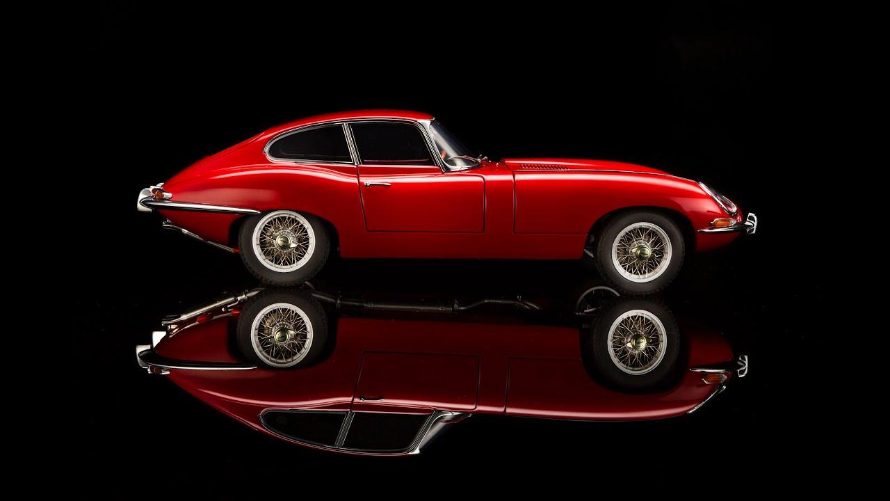 Autoart Jaguar E Type Series 1 Coupe   YouTube