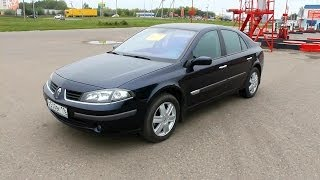 2007 Renault Laguna.  Start Up, Engine, and In Depth Tour.