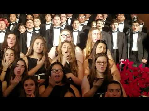 Grand Finale, Night of Silence/ Silent Night, and Oh Holy Night
