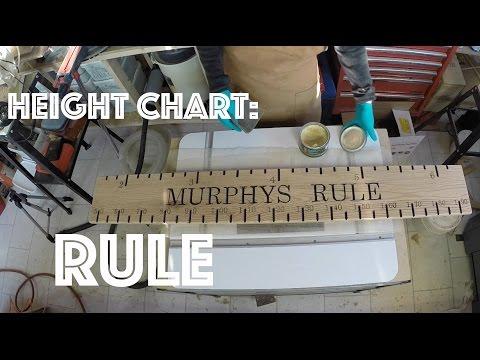 Height Chart Ruler