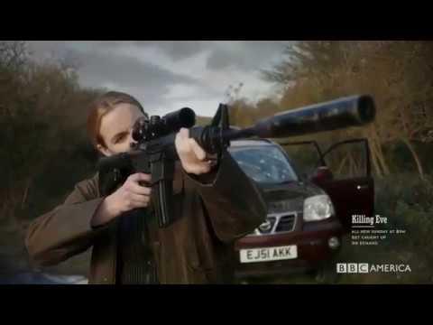 Killing Eve  Eve saving frank from Villanelle  Ending   S01E04