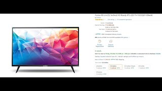 Best Fortex TV to Buy in 2020 | Fortex TV Price, Reviews, Unboxing and Guide to Buy