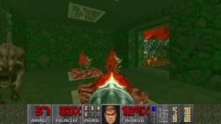 Doom the Way ID Did E3M9: Lake of Fire (100%)