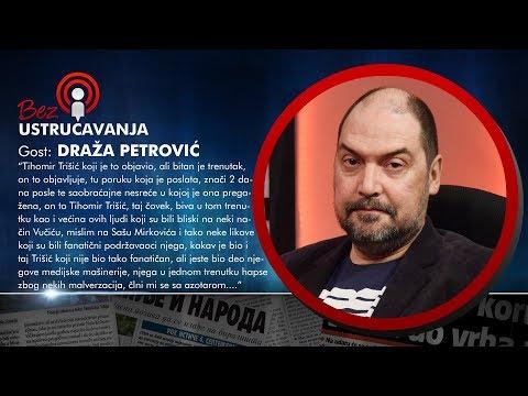 BEZ USTRUČAVANJA - Draža Petrović: Vučić je pripremio teren da Ćuruvija završi tako kako je završio!