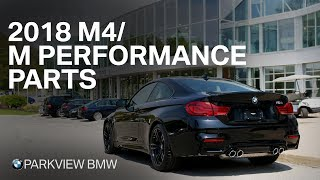 2018 BMW M4: Quick New Features/M Performance Parts