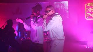 DA L.E.S & Flame live and unplugged at Bacardi House Party Live Sessions