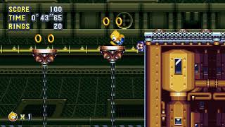 Sonic Mania Plus - Flying Battery 2 Encore (Ray) Speedrun in 55.85
