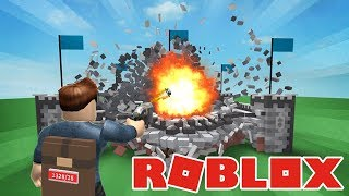 WE'RE GOING TO SMASH EVERYTHING! -Danish Roblox: Destruction Simulator
