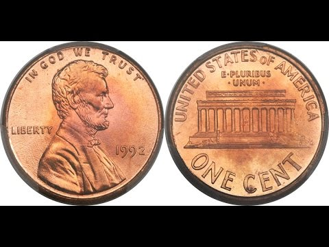 RARE 1992 Close AM Lincoln Cent Sells for $25,850 - GEM TOP GRADE AND  RECORD HOLDER