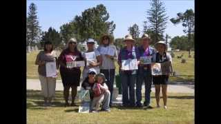 The San Diego Urban Sketchers at Greenwood Cemetery April 2015
