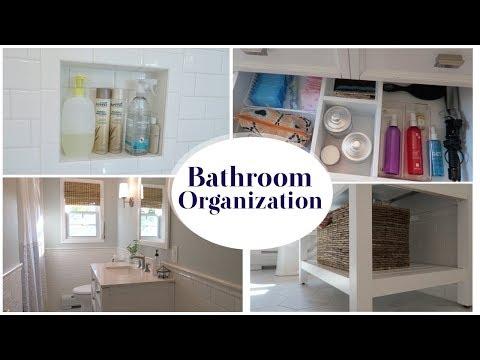 FAMILY BATHROOM ORGANIZATION