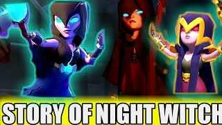 NIGHT WITCH FULL STORY||clash of clans||coc||in hindi||coc stories