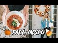 FALL INSPIRATION 2018! DECOR, HEALTHY RECIPES, CANDLES!