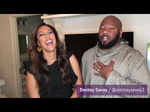 GLAMuary / Meet Tamera Mowry's Hairstylist, Dontay Savoy!