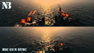 WoWS: Big Gun Sync Break Them