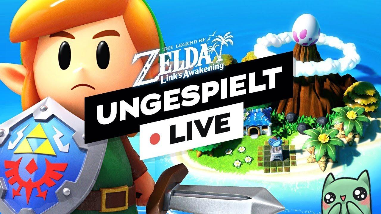 ZELDA: Link's Awakening durchzocken! | #ungespielt thumbnail