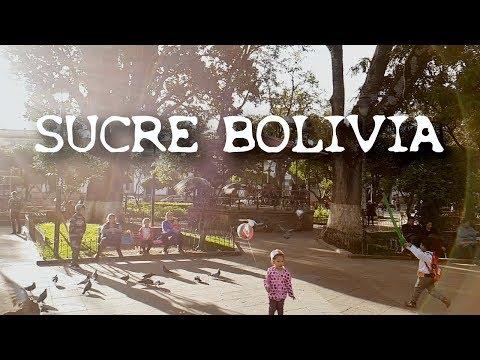 SUCRE BOLIVIA - SLOMO HYPERLAPSE of BEST TOURIST ATTRACTIONS