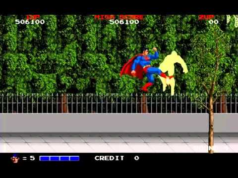 Superman Arcade Game - One Credit Clear, Baby!!!!