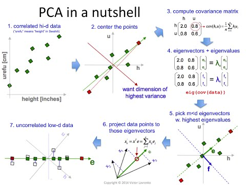 PCA 14: Principal component analysis for the impatient