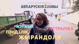 Мінчане спрабуюць растлумачыць беларускія словы / минчане объясняют белорусские слова