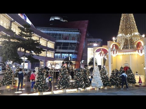 Shenzhen MIXC Shopping Mall - Beautiful Christmas Scenes