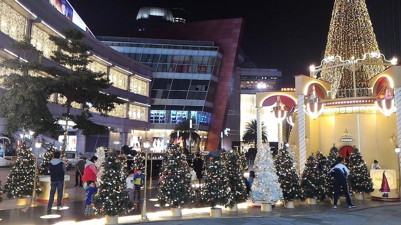 Shenzhen MIXC Shopping Mall Beautiful Christmas Scenes