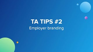 Building a great employer brand is not always straightforward task. but there are couple of key steps and elements you'll need to start forming the found...
