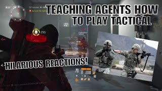 The Division: HILARIOUS TACTICAL STYLE GAMEPLAY! LIVE REACTIONS!