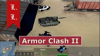 Armor Clash II gameplay: Gaia vs Steel Alliance