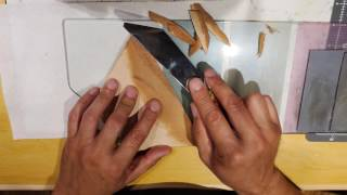 leather skiving knife - how to sharpen, use and choose a knife